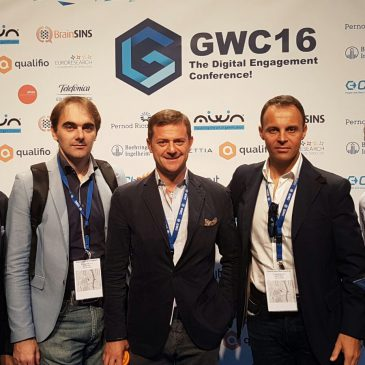 Zero e il suo team presente al Gamification World Congress 2016!